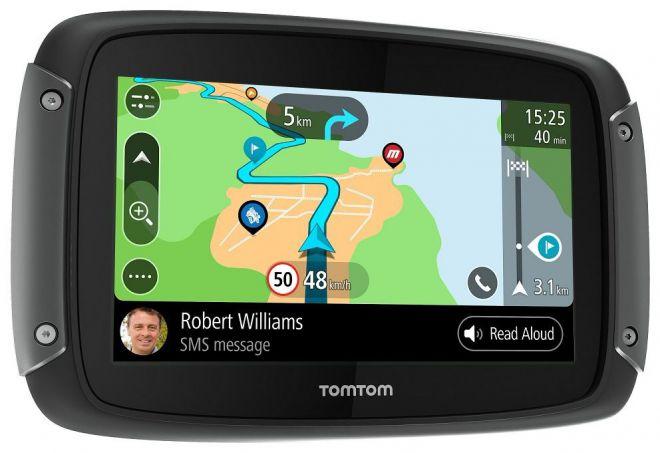 Nuevo navegador para motos TomTom RIDER 550