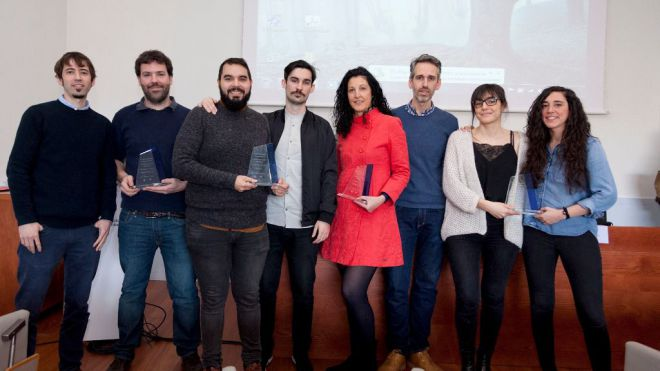 Entregados los VII Premios Abiatu a las mejores empresas creadas en el Campus de Bizkaia