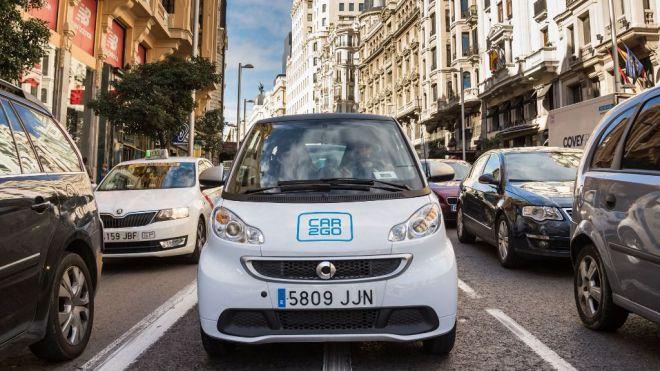 car2go, crece sin descanso en Madrid