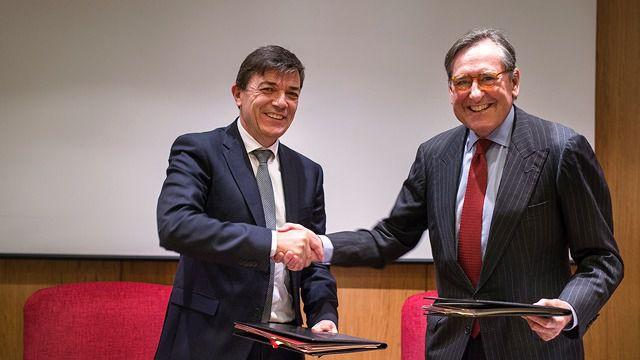 Investigación, formación, emprendimiento y cultura centran el acuerdo entre Banco Santander y la Complutense