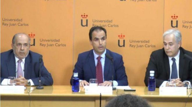 La URJC traslada a la fiscalía su investigación del