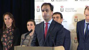 La URJC suspende de sus funciones a Álvarez Conde