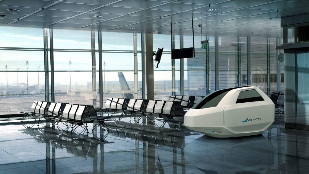 AirPod revoluciona el descanso en los aeropuertos