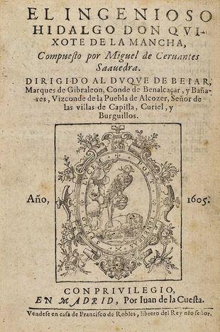 Descubren que el corrector de la Segunda Parte del Quijote fue Jerónimo de Salazar