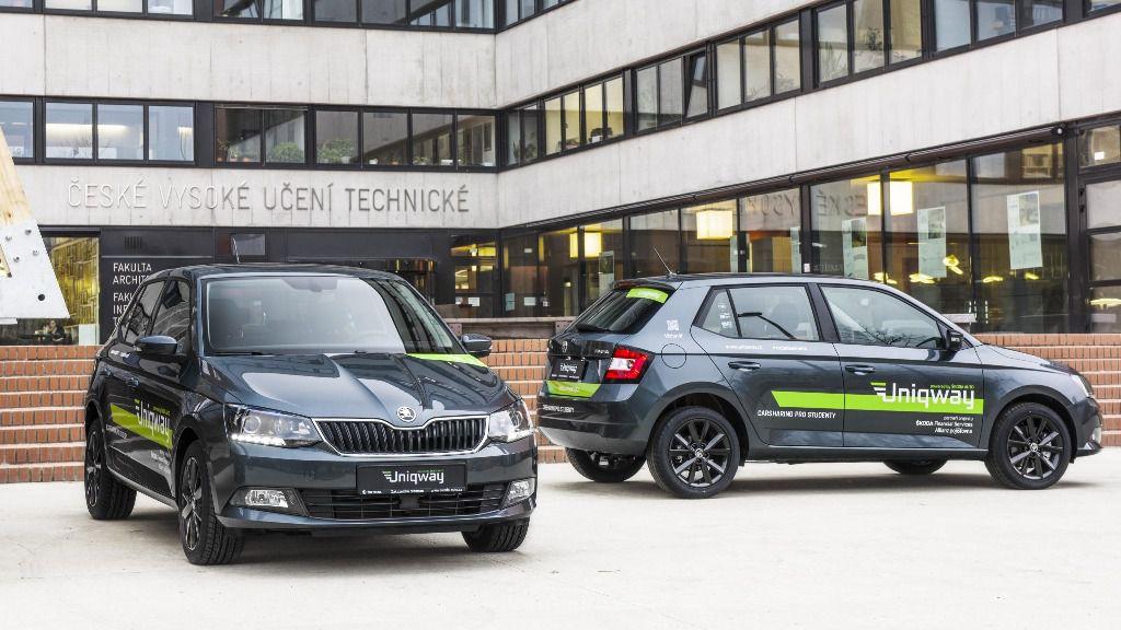"""ŠKODA AUTO lanza la plataforma de Car Sharing """"UNIQWAY"""""""