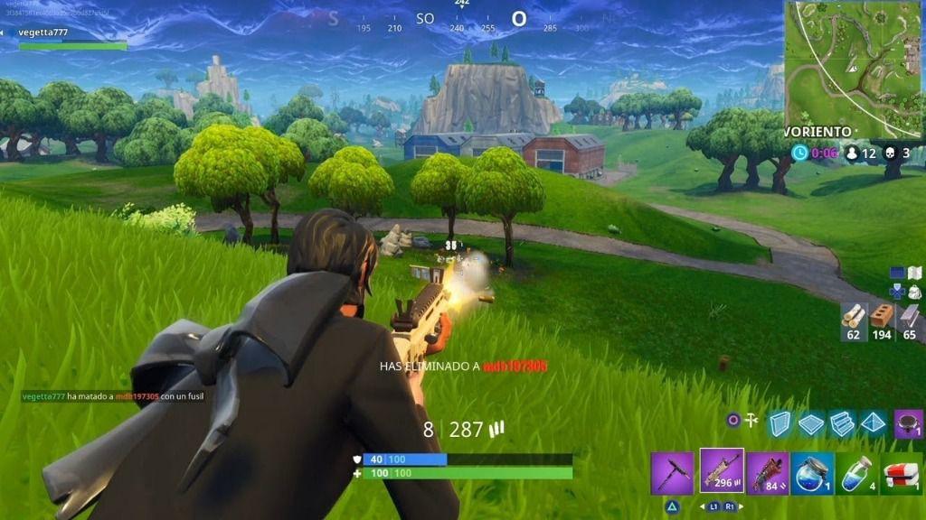 Cuidado con los riesgos de jugar al Fortnite