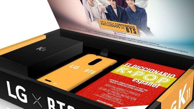 Vodafone y LG lanzan la edición exclusiva BTS del LG K11