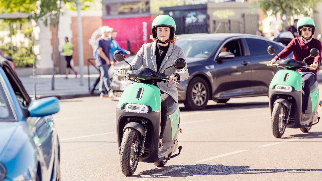 COUP, servicio de Motosharing, arranca en Madrid