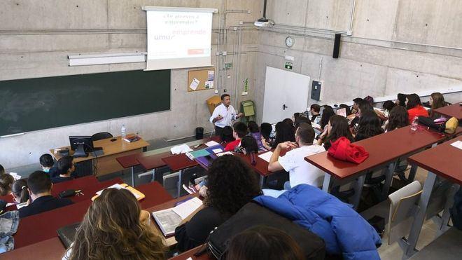 UMUemprende, La UMU apuesta por potenciar el espíritu emprendedor de sus alumnos
