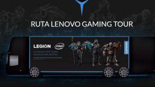 'Lenovo Gaming Tour', si eres un gamer, disfruta con Lenovo Legion