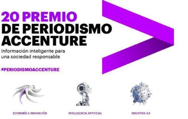Abierta convocatoria del 20 Edición del Premio de Periodismo de Accenture