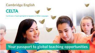 El curso CELTA de Cambridge English dará puntos a los profesores de Cataluña