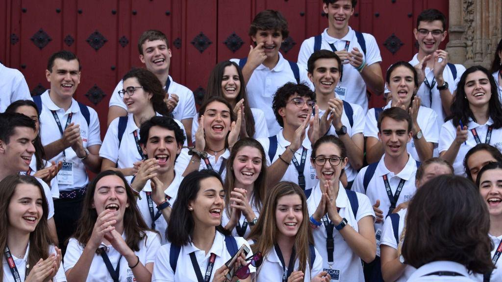 La UFV y Banco Santander eligen a los 50 estudiantes más brillantes de España