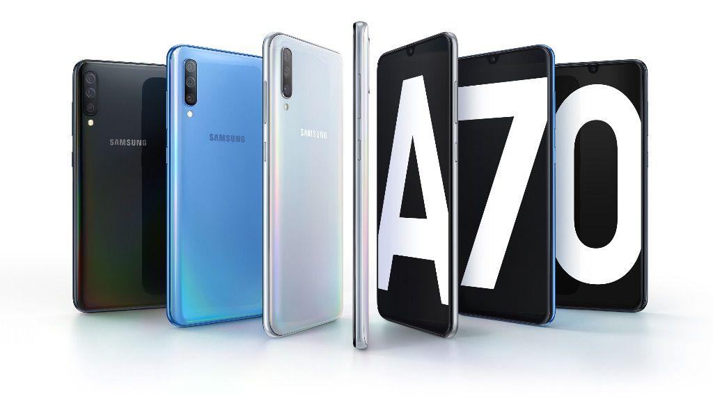 Llega a España el nuevo Galaxy A70, triple cámara e inteligencia articial