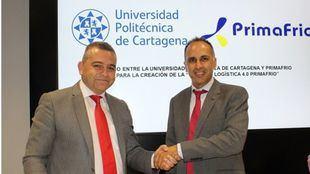 Nueva Cátedra Primafrio Logística 4.0 de la Universidad Politécnica de Cartagena