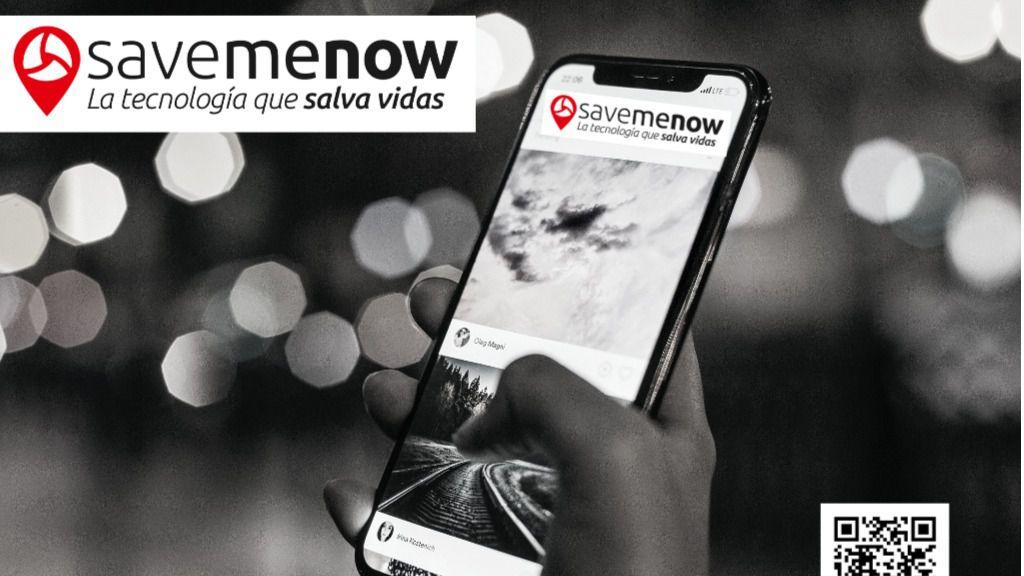 SaveMeNow, la aplicación móvil que puede salvarte la vida