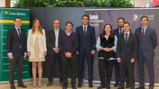 La Universidad de Navarra y Caja Rural premian 5 proyectos emprendedores