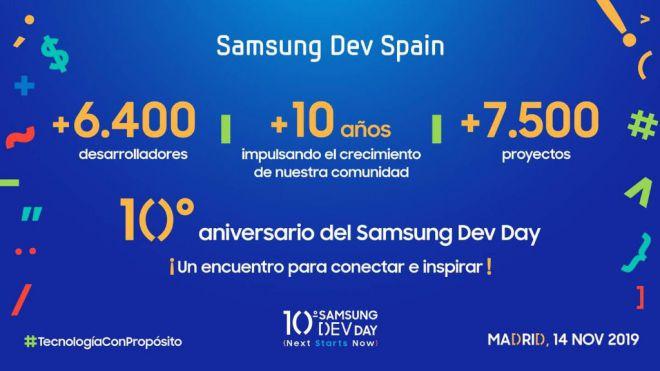 Abierto período de inscripciones para la décima edición de Samsung Dev Day