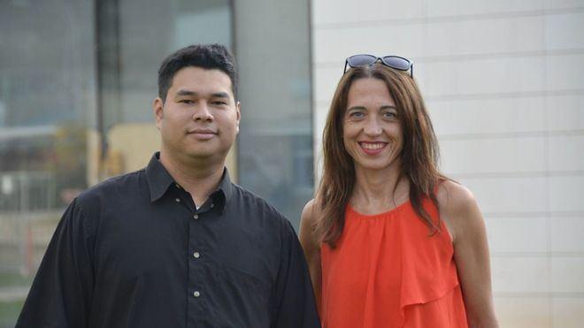 Raquel Lacuesta y Franks González-Landero