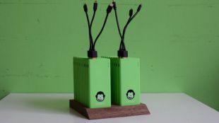 Chimpy llega con sus baterías móviles a Barcelona