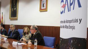 Unizar inaugura el Centro de Astropartículas y Física de Altas Energías