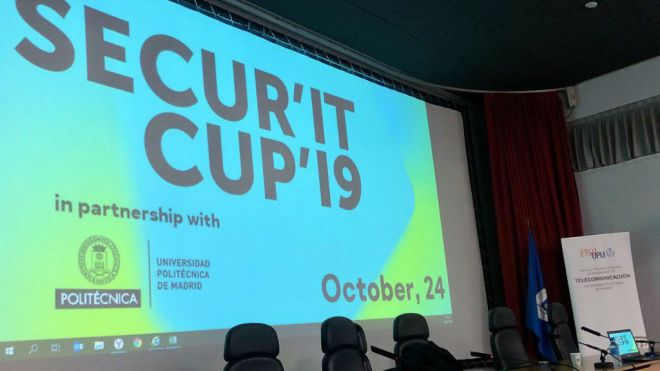 Dos alumnos de la UPM, ganadores de la fase local de Secur'IT Cup de Kaspersky