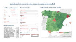Un investigador de la UOC crea un modelo científico que predice las posibilidades reales para comprar un piso en España