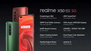 realme X50 Pro 5G, un potente dispositivo con Snapdragon 865