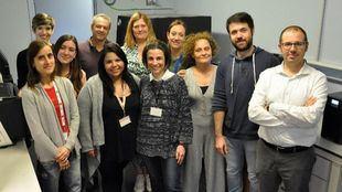 Grupo del equipo de secuenciación