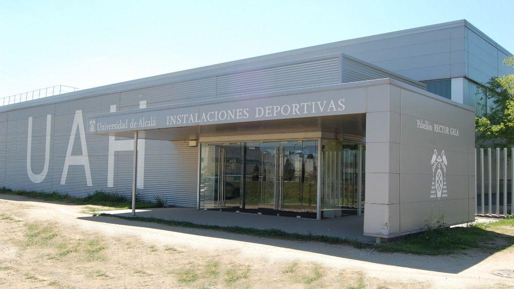 La Universidad de Alcalá transforma el Pabellón Deportivo 'Rector Gala' en hospital de emergencia