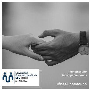 La Universidad Francisco de Vitoria acompaña a las personas que pasan el confinamiento solas