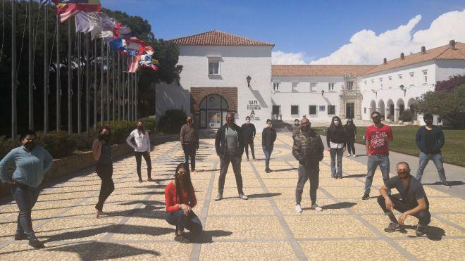 Historias del confinamiento: estudiantes latinoamericanos confinados en La Rábida