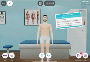 la Universidada Europea desarrolla el primer escenario de simulación con un paciente virtual