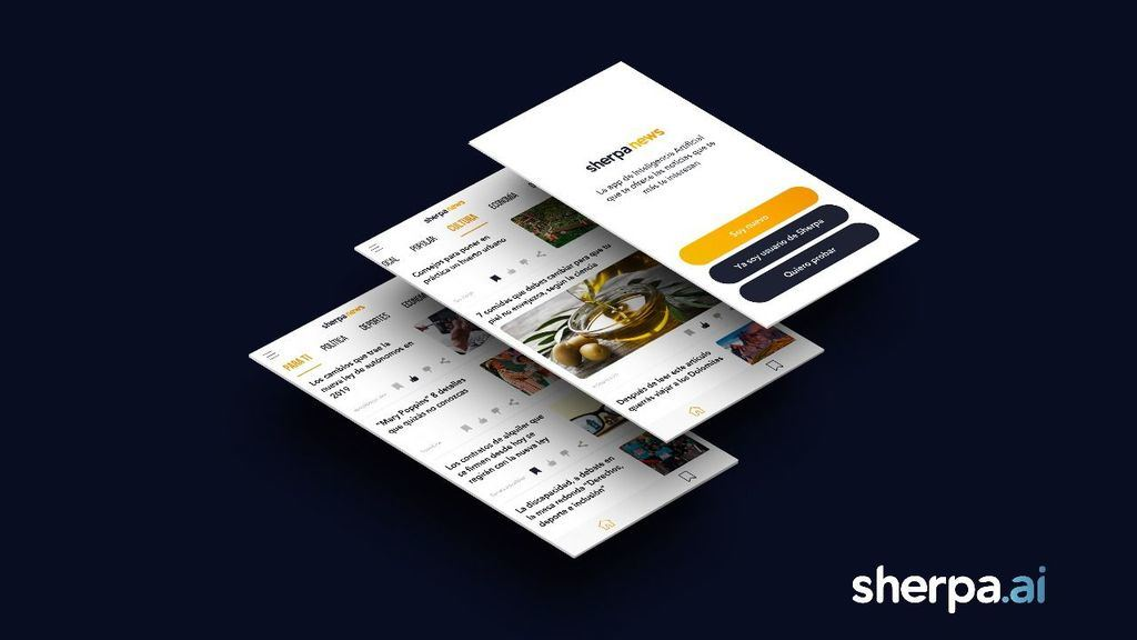 Sherpa News, la nueva aplicación de noticias con inteligencia artificial avanzada