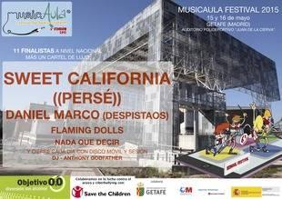 Gran Final de la 6ª Edición del Festival MusicAula 2015 en Getafe