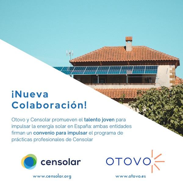 Otovo y Censolar buscan el talento joven en España en energía solar
