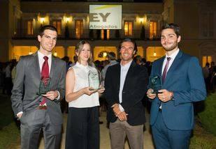 Finalistas del premio Young Tax Professional