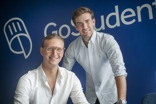 Los fundadores de GoStudent, Founders of GoStudent,  Gregor Müller y Felix Ohswald