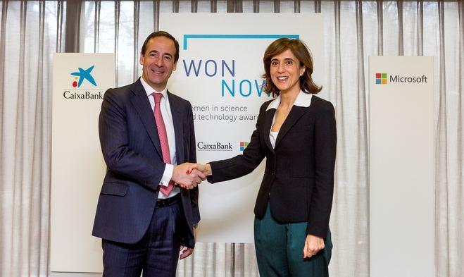 CaixaBank y Microsoft lanzan los Premios WONNOW buscando la excelencia femenina en carreras universitarias técnicas