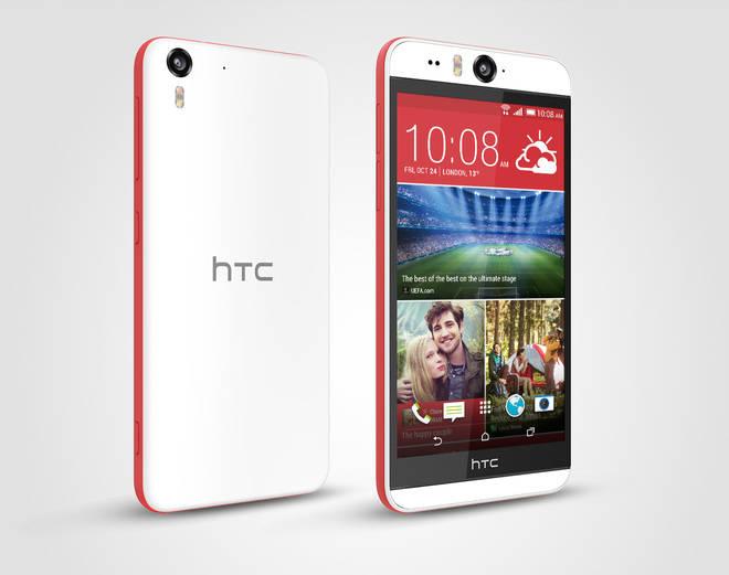 HTC Desire EYE, el especialista para selfies, ya está disponible en España