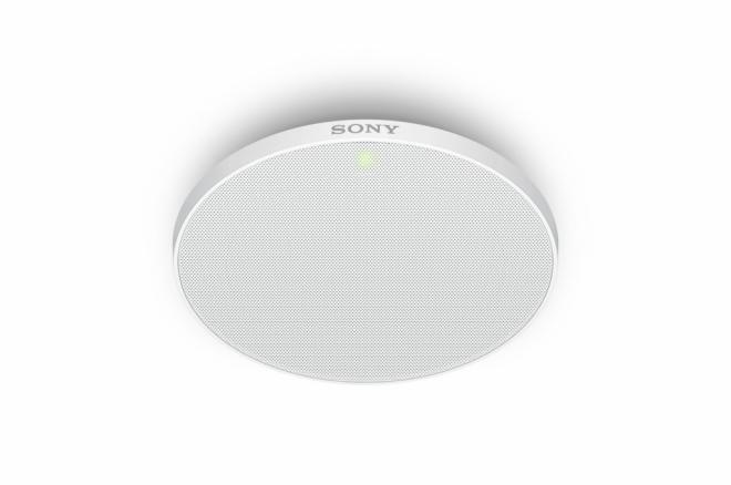Sony lanza un micrófono de techo basado en IP