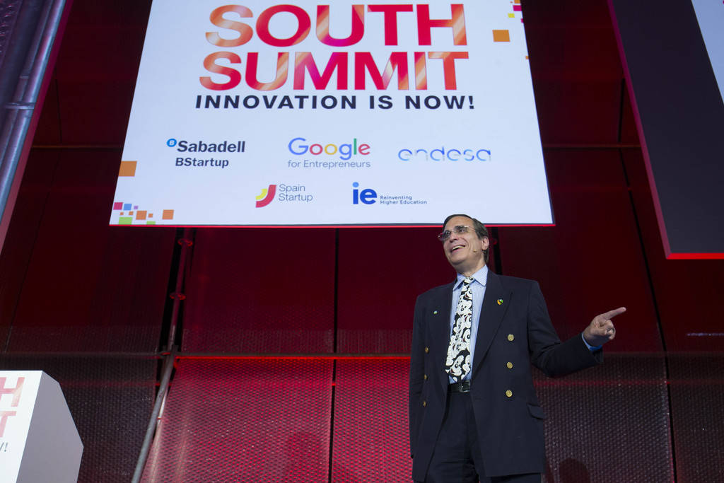 José Luis Cordeiro en South Summit 2017