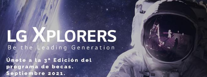 LG ESPAÑA convoca la 3ª edición de su programa de becas LG Xplorers