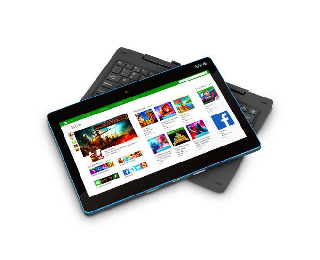 SPC Smartee Winbook 11.6: todas las prestaciones de un portátil en una tablet