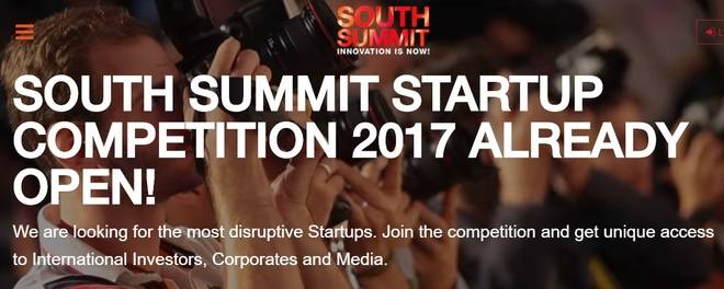 Abierta la convocatoria de la Startup Competition 2017 de South Summit