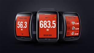 Nike+ Running App, en el nuevo Samsung Gear S