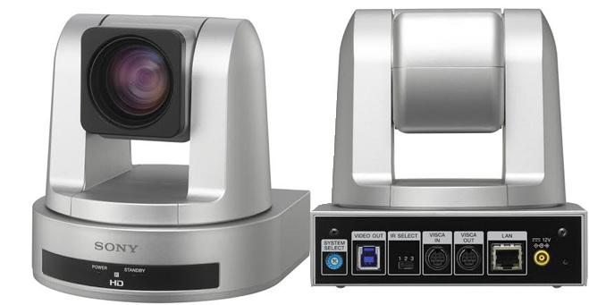 Primera cámara robótica con USB 3.0 de Sony