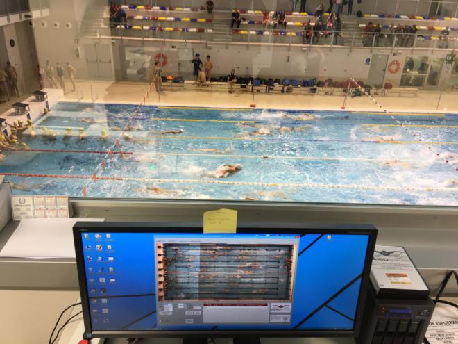 Investigadores de la UGR desarrollan un nuevo sistema para analizar las competiciones de natación de forma automática