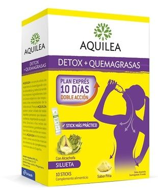 Comienza la Operación Bikini, Aquilea lanza Aquilea Detox + Quemagrasas