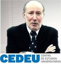 """Masterclass de José María Gay de Liébana en CEDEU sobre """"El contexto económico actual""""."""
